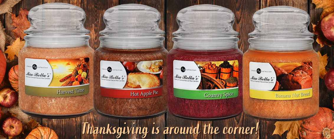 Best Fall Scented Candles