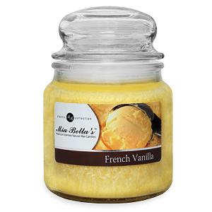 French Vanilla Candles - Mia Bella Candles