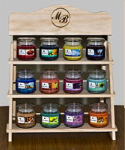 Mia Bella Product Display Shelf