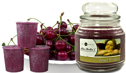 Angel Wings - Cherry Vanilla Scented Candles