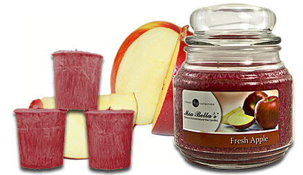 August Candle of the Month Scent - Fresh Apple