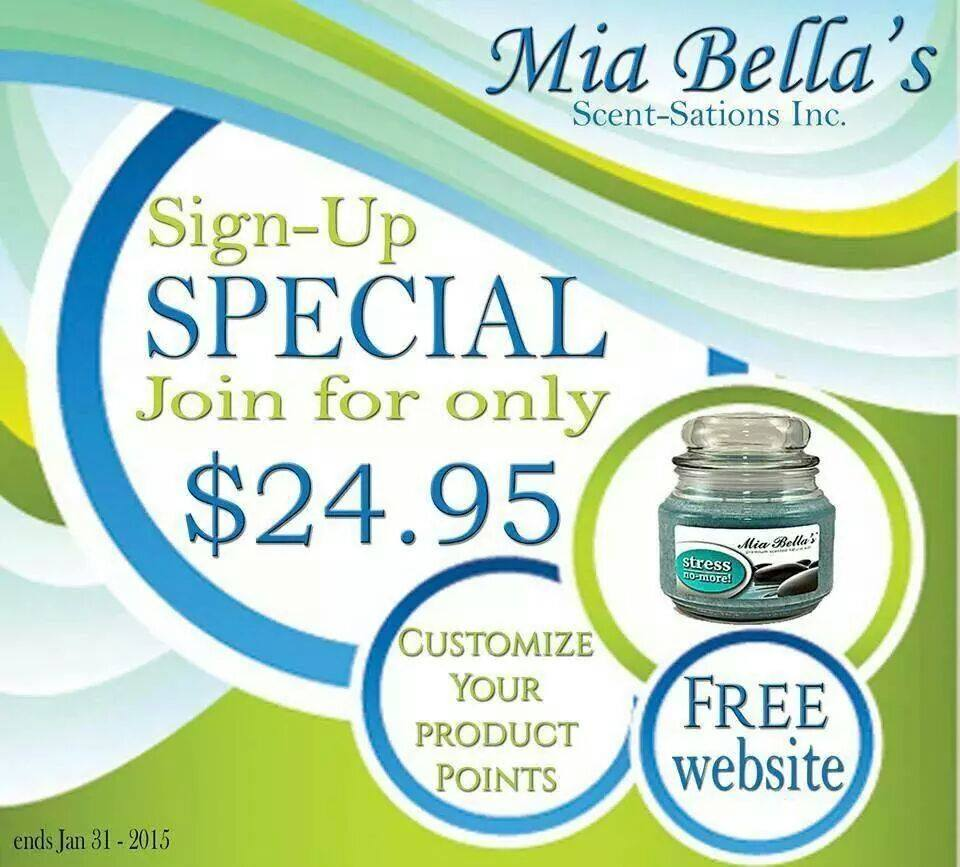 Mia Bella Sign Up Special