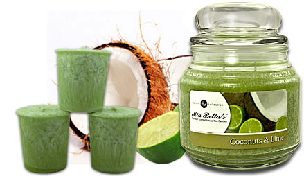 Coconuts and Lime Candle of the Month Scent