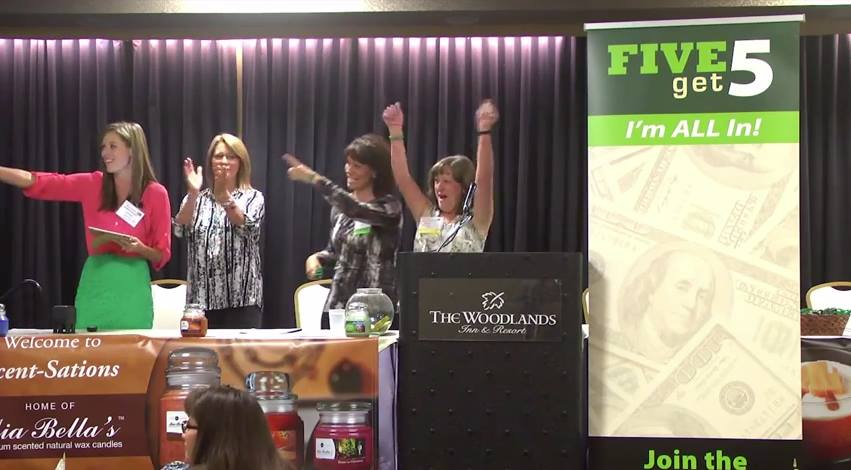 Announcing the $500 Movement at Scent-Sations Convention