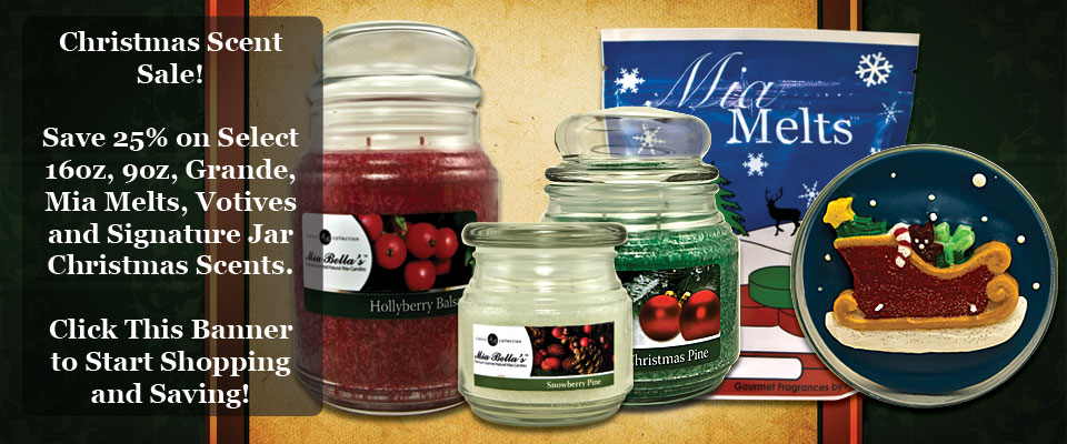 Christmas Scents - Sale - 25% Off