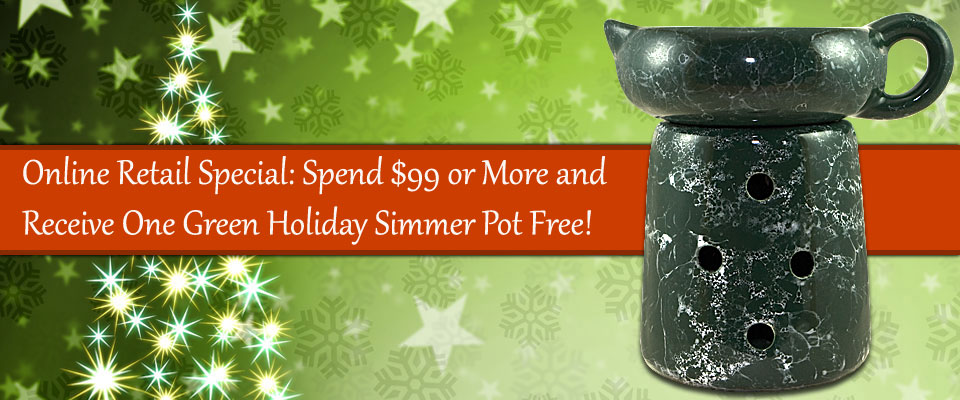 Free Simmer Pot - Online Special