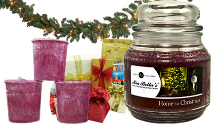 Home for Christmas Natural Wax Candle