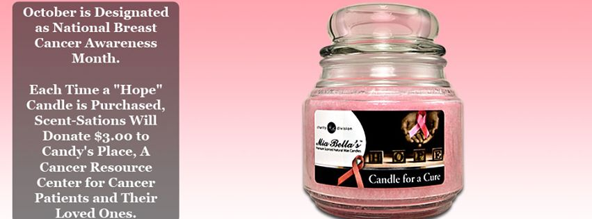 Candle for a Cure- Hope Candle supports Cancer Resource Center