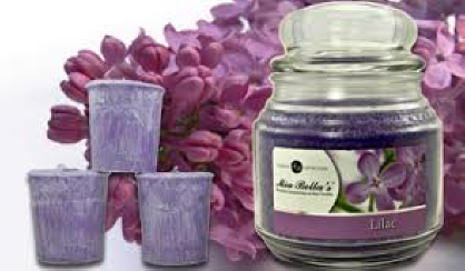 Candle of the Month Club Scent - Lilac Candles