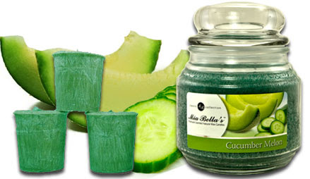 Mia Bella Candles - Cucumber Melon - Candle of the Month