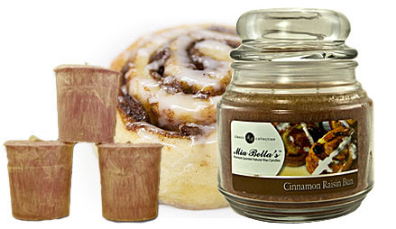 Candle of the Month - Cinnamon Raisin Bun