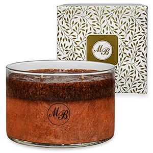 Mia Bella's Layered Signature Candles - Fireside